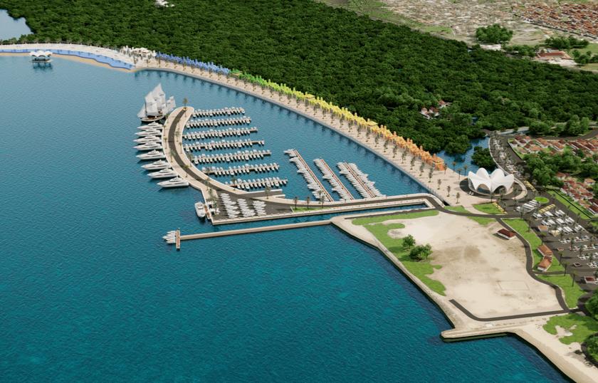 Diamond Sanur Super Marina Slated To Become Bali S Best Tourism Centre Gapura Bali