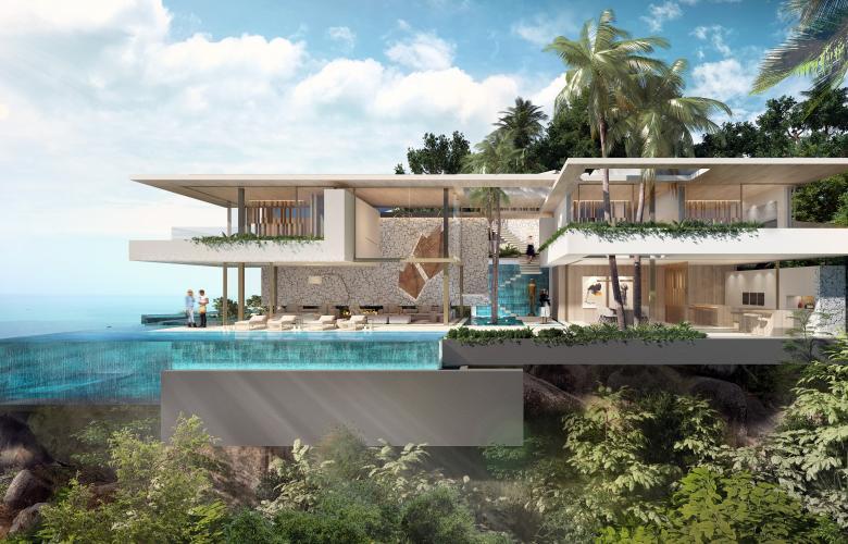 Nusa Dua Badung Ba Indonesia Off Plan Cliff Front Luxury Villas For Sale In Nusa Dua The Real Estate Conversation